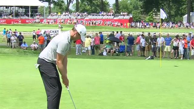 Nick Watney's 42-foot birdie putt at Rocket Mortgage