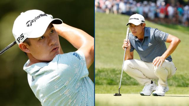 Collin Morikawa on how he prepares for PGA TOUR events