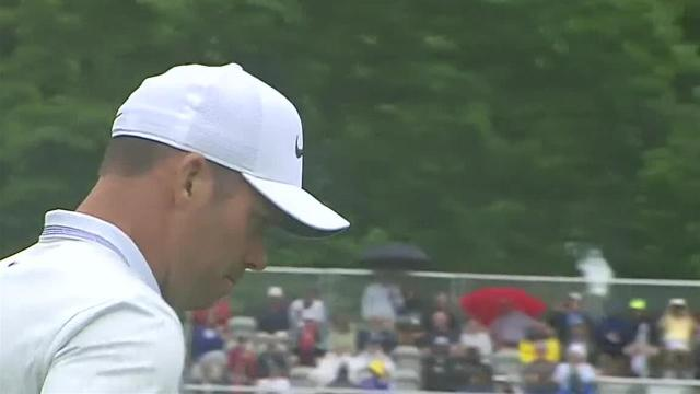 Paul Casey cards Round 2 closing birdie at Travelers