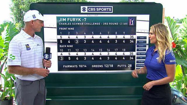 Jim Furyk's interview after Round 3 of Charles Schwab