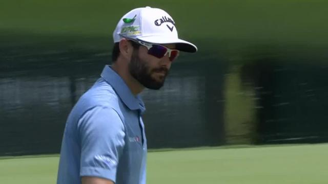 Adam Hadwin's 36-foot par save at Wells Fargo