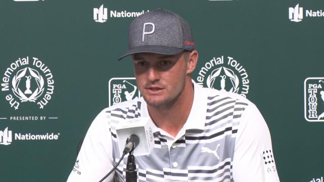 Bryson DeChambeau talks of his low point before the Memorial