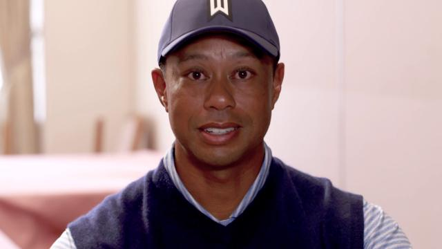 Tiger Woods and Sergio Garcia talk soccer ahead of El Clasico