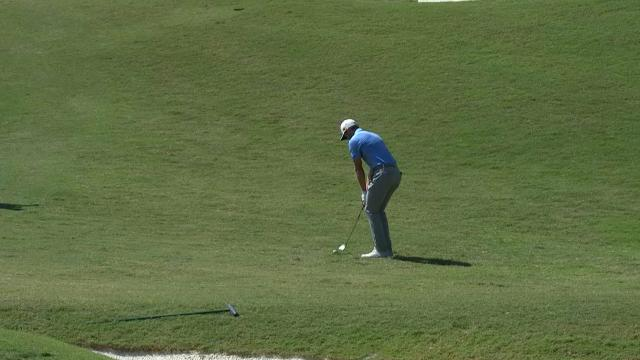 Today's Top Plays: Sam Burns' hole-out eagle for the Shot of the Day