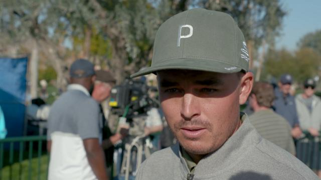 Rickie Fowler comments after Round 1 of The American Express