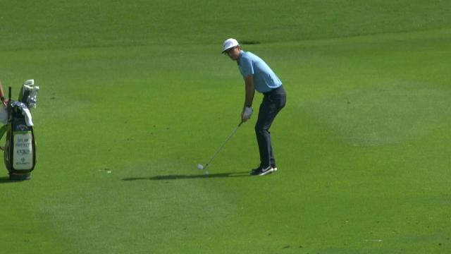 Today's Top Plays: Dylan Frittelli's holes-out eagle approach for the Shot of the Day