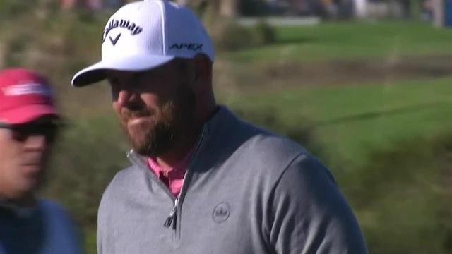 Scott Brown's 40-foot birdie putt at The RSM Classic