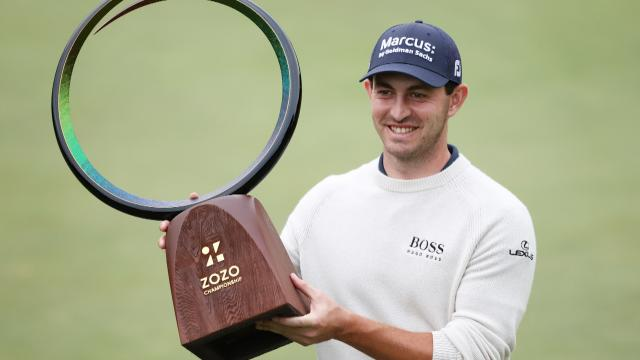 Patrick Cantlay wins at ZOZO