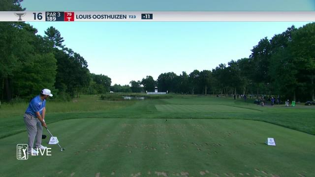 Louis Oosthuizen makes birdie on No. 16 in Round 4 at THE NORTHERN TRUST