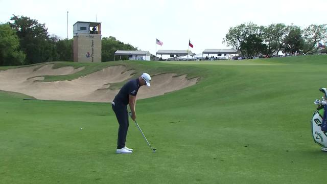 PGA TOUR | Matt Wallace makes birdie on No. 17 in Round 4 at Valero