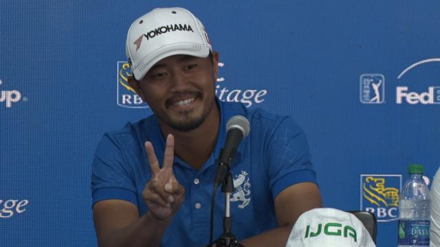 Satoshi Kodaira relives last year's win before RBC Heritage