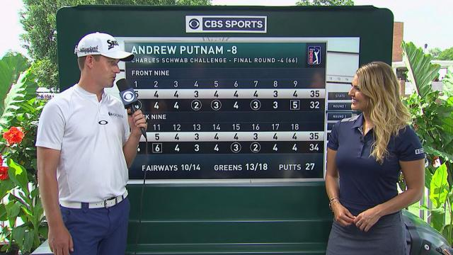 Andrew Putnam interview after Round 4 of Charles Schwab