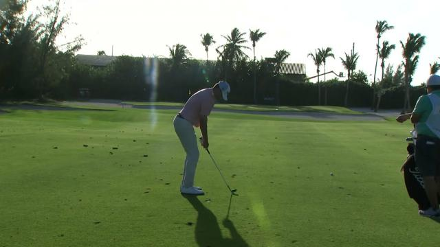 Top-3 shots from Round 3 at the Great Exuma