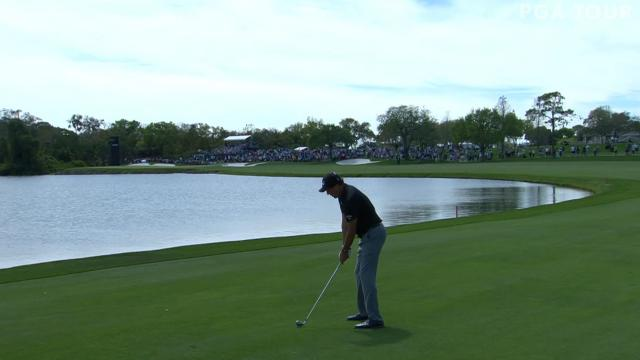 Today's Top Plays: Phil Mickelson's impressive approach for the Shot of the Day