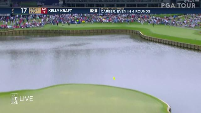 Kelly Kraft nearly aces No. 17 at THE PLAYERS