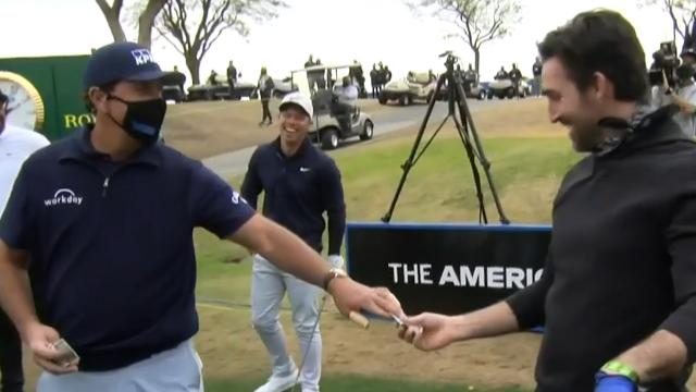Phil Mickelson hosts The American Express Charity Challenge