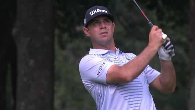 Gary Woodland's 109-yard approach sets up birdie putt at ZOZO