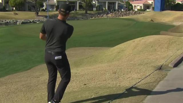 Kevin Chappell's approach inside 10 feet leads to birdie at The American Express