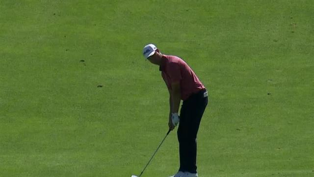 Harris English's solid approach sets up 2-foot birdie putt at RBC Canadian