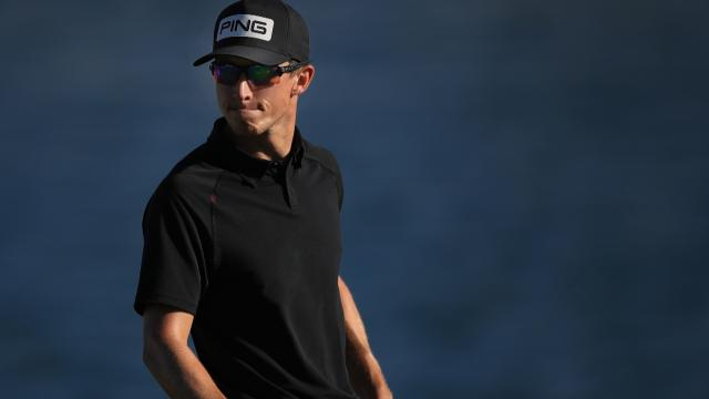 Brandon Hagy leads after opening round at The American Express