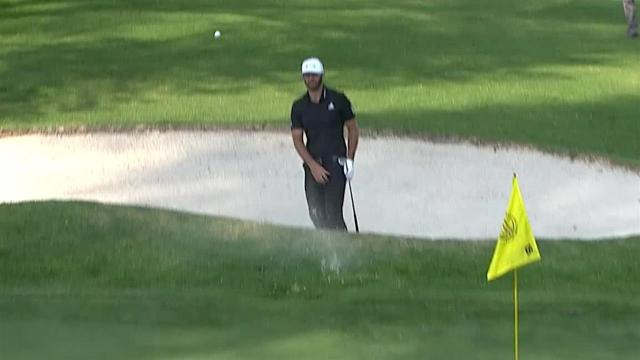 Dustin Johnson's bunker play leads to birdie at WGC-Mexico