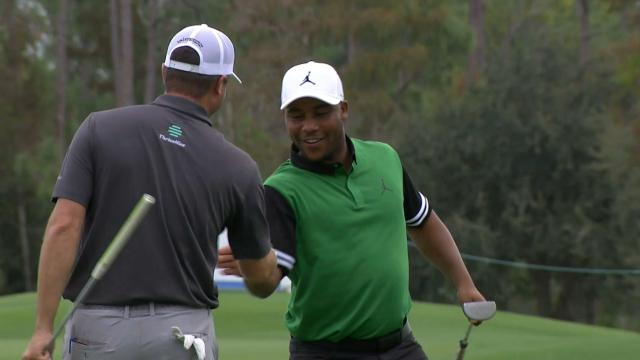 Varner III, Palmer shoot 55 to lead at QBE Shootout