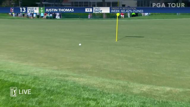 Justin Thomas sticks approach to set up birdie at Honda