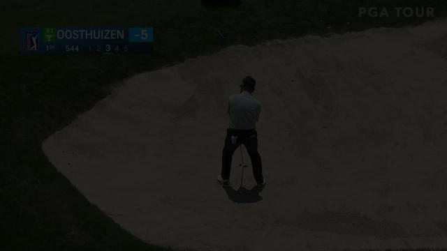 Louis Oosthuizen's incredible bunker hole-out at Valspar