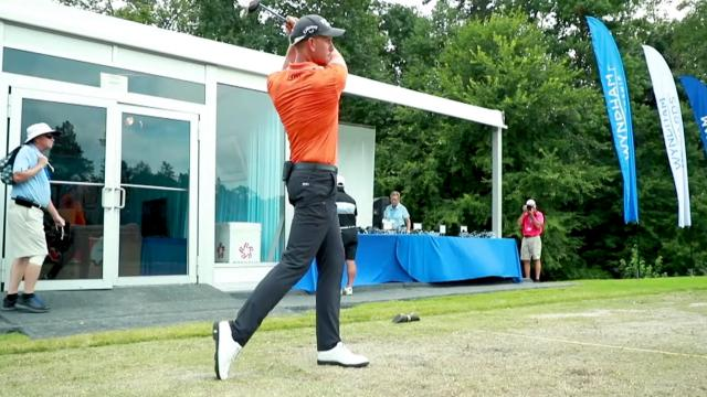 Henrik Stenson instructional on hitting a 3-wood
