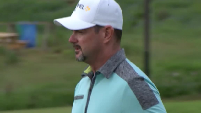 Rory Sabbatini's 30-foot birdie putt at AT&T Byron Nelson
