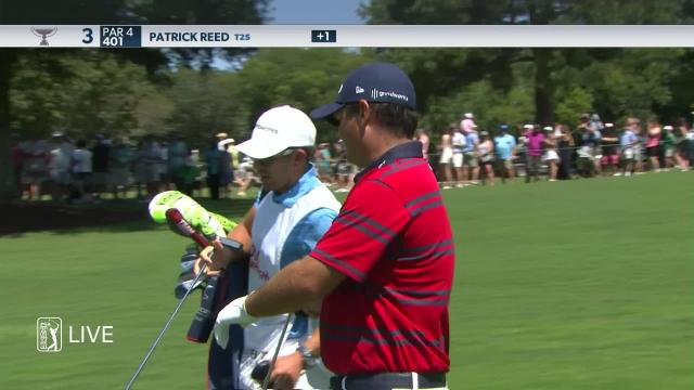 Patrick Reed's nice approach leads to birdie at TOUR Championship
