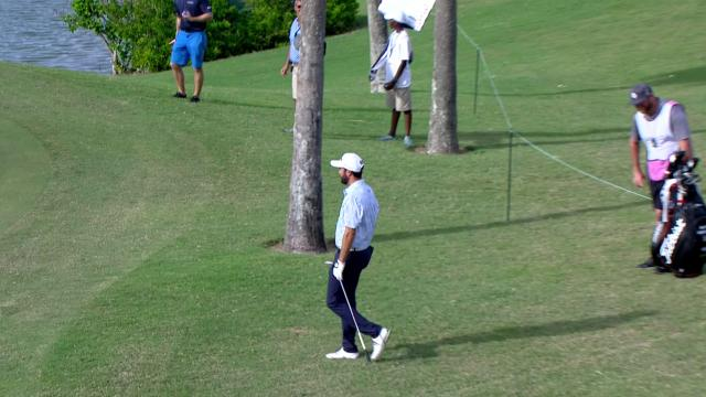 Today's Top Plays: Mark Hubbard's aggressive eagle chip for Shot of the Day at Bermuda