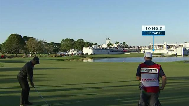 Hole-outs everywhere during Round 2 at Honda