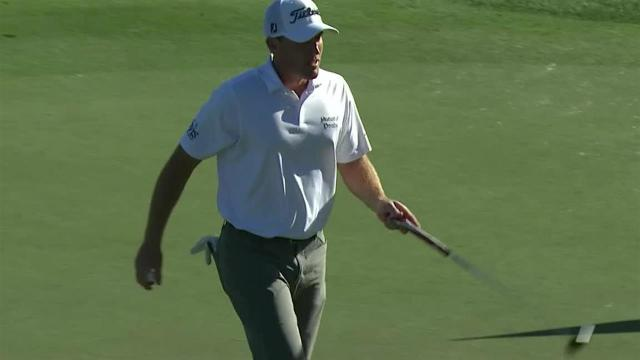 Robby Shelton's 28-foot birdie putt at The Greenbrier