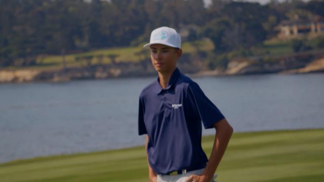 PGA TOUR   First Tee participant perseveres through rare bone marrow disease
