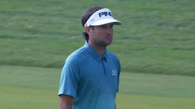 Bubba Watson's solid approach sets up birdie putt at WGC-HSBC Champions