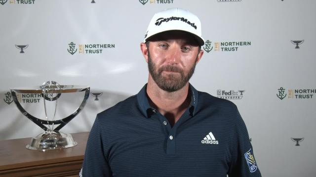 PGA TOUR | Dustin Johnson's news conference after winning THE NORTHERN TRUST