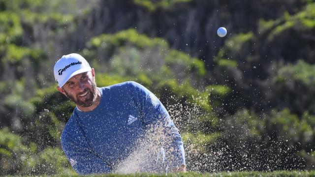 Dustin Johnson's Round 2 highlights from AT&T Pebble Beach