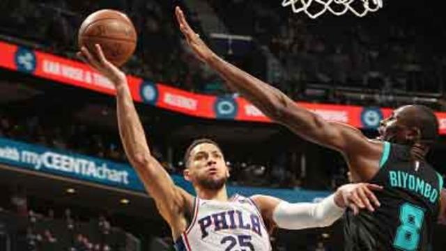 Redick just misses triple-double; 76ers beat Hornets 118-114