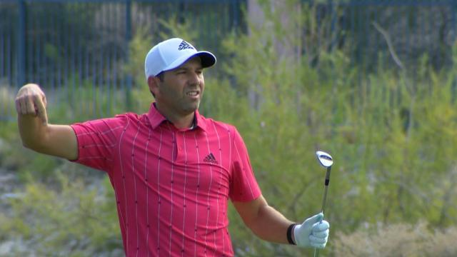 Today's Top Plays: Sergio Garcia's eagle hole out is the Shot of the Day