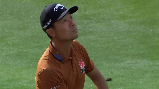 Kevin Na's nice approach leads to birdie at The American Express