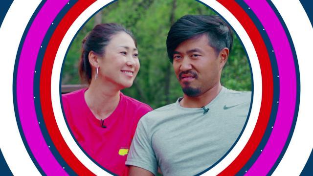 Satoshi Kodaira and wife Miho Koga play the Dating Game
