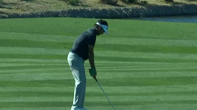 Bubba Watson's impressive second leads to birdie at Waste Management