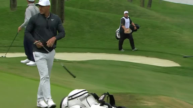 Brooks Koepka's controlled approach leads to birdie at THE PLAYERS