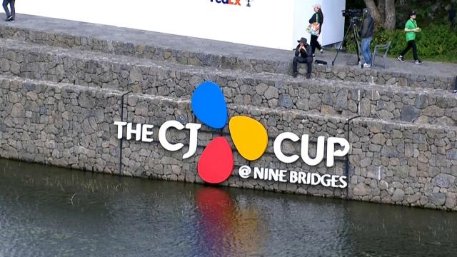 Top shots from Round 1 at THE CJ CUP @ NINE BRIDGES