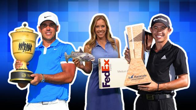 Koepka cleans up, Morikawa continues rookie dominance and Judge the golf dog takes over