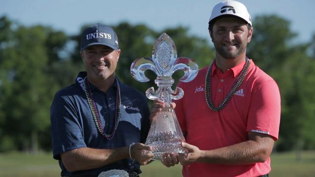 Jon Rahm and Ryan Palmer's winning highlights from Zurich Classic