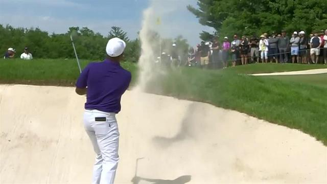 Harold Varner III's bunker shot sets up 6-foot birdie at RBC Canadian