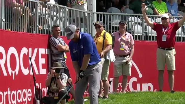 J.B. Holmes gets up-and-down for birdie at Rocket Mortgage