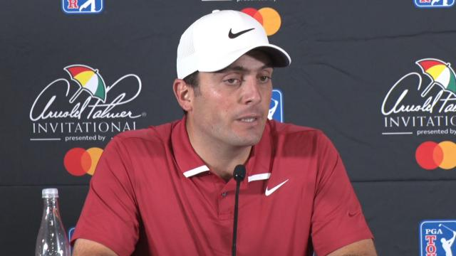 Francesco Molinari on his game before the Arnold Palmer